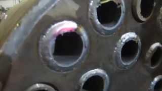Сварка труб в трубную доску.(Сварка труб в трубную доску (орбитальная сварка). Сварка выполнялась проволокой в среде защитного газа., 2014-11-13T17:39:09.000Z)