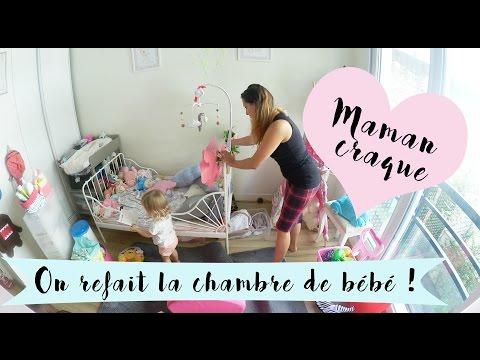 Une journée avec nous - Maman craque On change la chambre de bébé