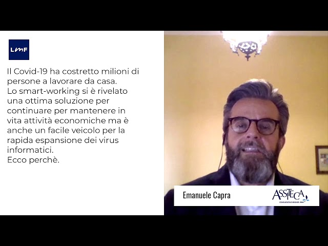 Smart working e Covid19 - Emanuele Capra (Assiteca)