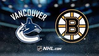 Vancouver Canucks vs Boston Bruins (8-5) – Nov. 8, 2018 | Game Highlights | NHL 2018