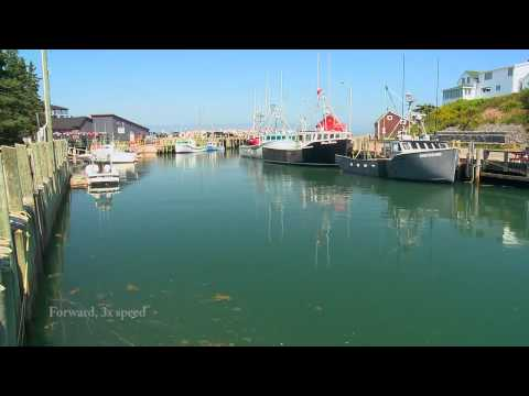Halls Harbour Tide, Time Lapse