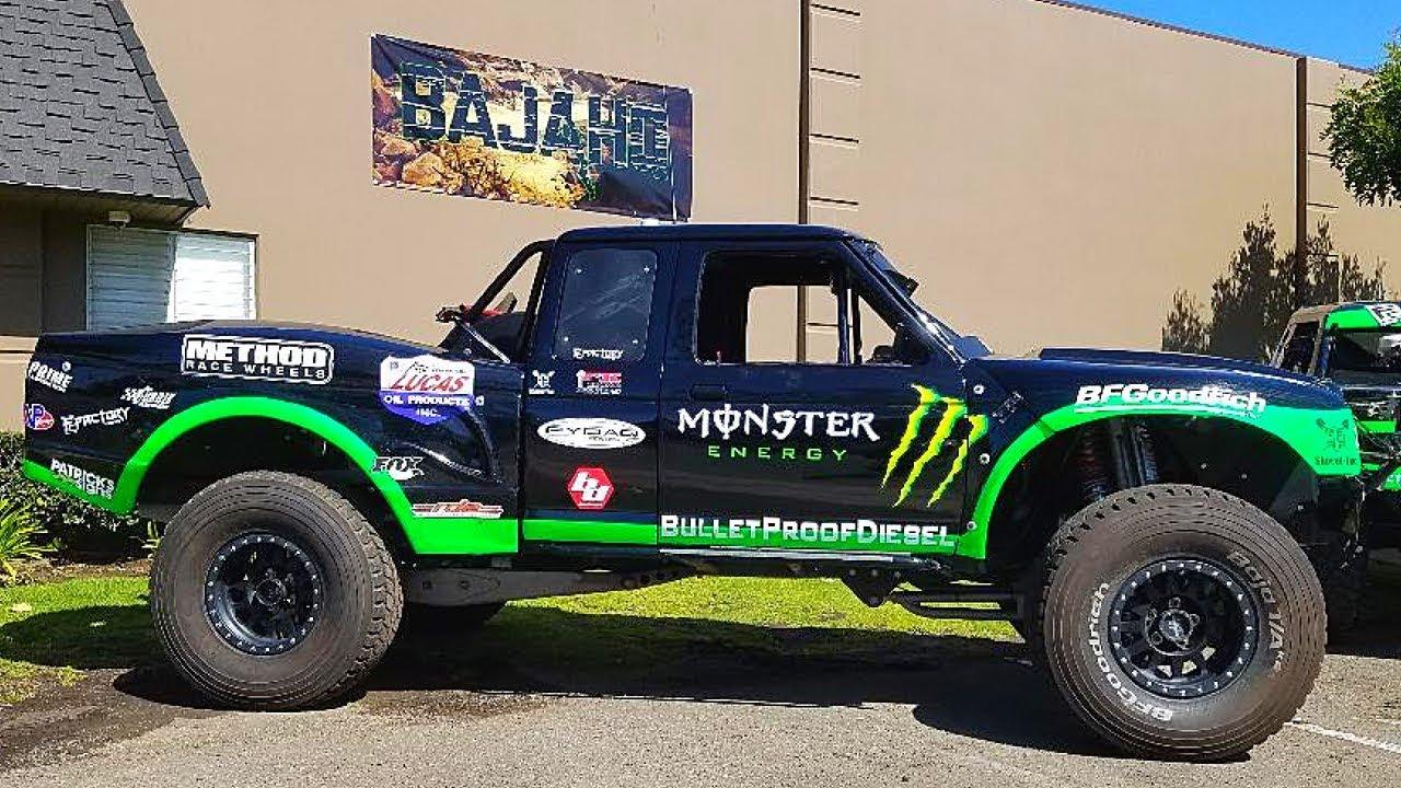 Ford Ranger Race Truck Prerunner Youtube