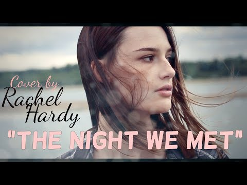 "Lord Huron - ""The Night We Met"" cover by Rachel Hardy"