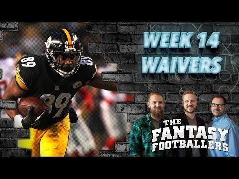 Fantasy Football 2016 - Week 14 Waivers, Bad Beats, Streams of the Week - Ep. #321