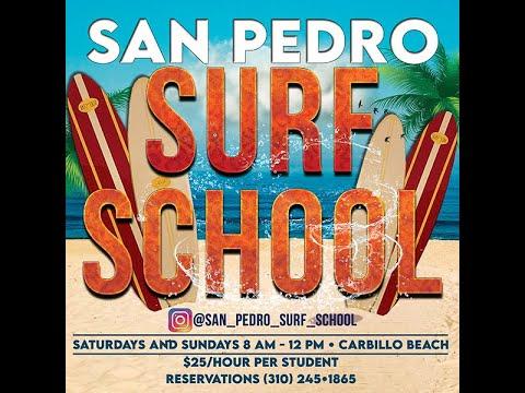 San Pedro Surf School - #JoseAmaralJr