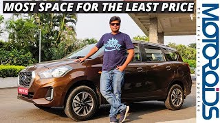 New 2018 Datsun Go Plus Facelift Review | Big Space Small Price | Motoroids