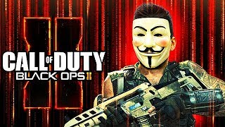 EVIL HACKER TURNS ME INTO A HACKER on Black Ops 2! (Call of Duty Mods)