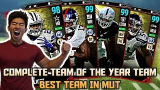 COMPLETE TEAM OF THE YEAR TEAM! ZEKE, OBJ, CO...