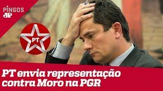 PT aciona PGR contra Moro