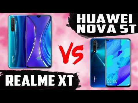 Huawei Nova 5T Vs Realme XT