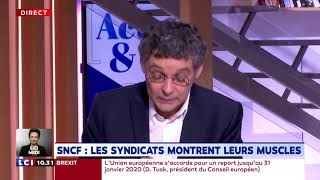 SNCF : Les syndicats montrent leurs muscles