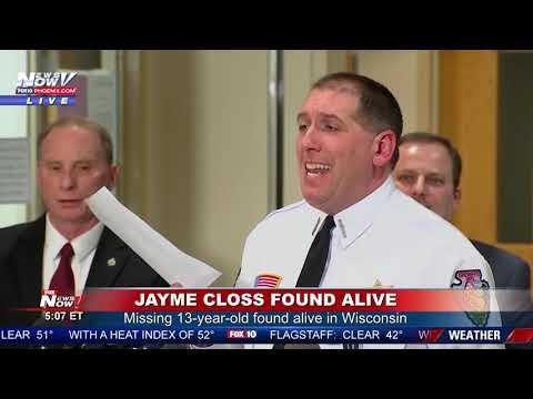 NEW DETAILS: Jayme Closs Harrowing Escape - Suspect Arrested