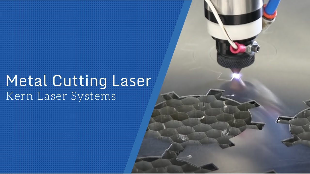 Metal Cutting Laser Kern Laser Systems Youtube