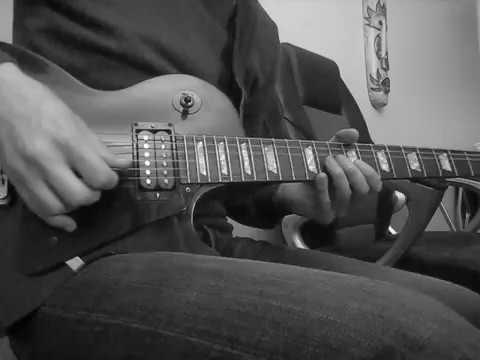 Guns N' Roses – Ain't It Fun guitar solo cover (Slash)