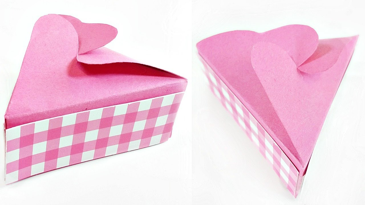 Paper Crafts Gift Box Template Easy Tutorial Making Diy Ideas For