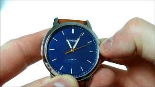 Fossil FS5304 The Minimalist Horloge