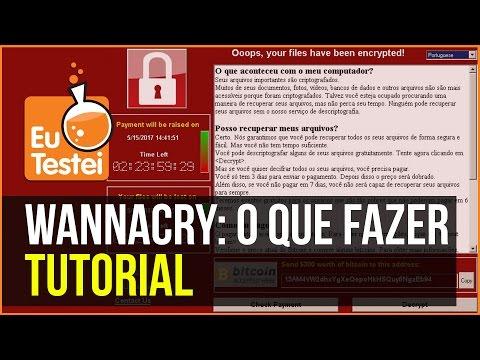 Como se proteger do WannaCry? O que é esse ataque a computadores no mundo? - EuTestei