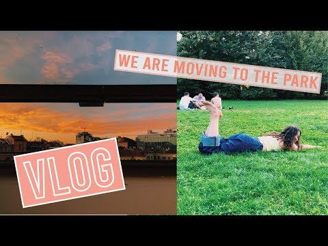 VLOG | We are moving to the Park + School Supplies