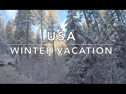 USA Family Winter Vacation - #FraMen Travels