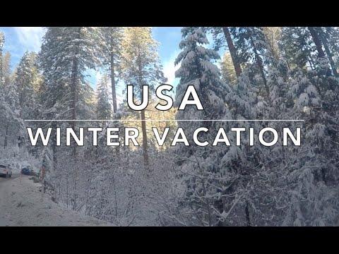 USA Family Winter Vacation - #FraMen Travels