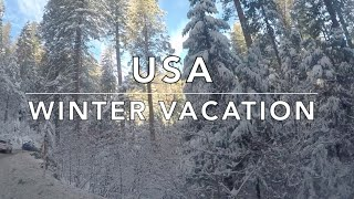 USA Family Winter Vacation – #FraMen Travels