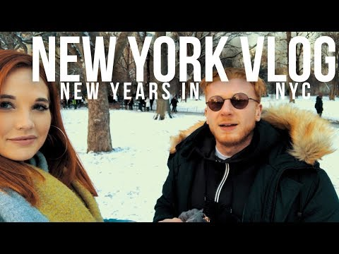 New York SNOW BOMB Vlog | New Year In New York | Brooklyn Nets,  The Best Cookies and Burgers