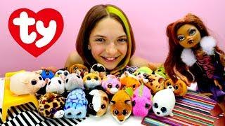 Видео для девочек Монстер Хай - Хомячки Teeny Tys