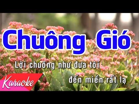 KARAOKE NHẠC TRẺ 2018 | Chuông Gió - St. Võ Thiện Thanh | Beat Chuẩn