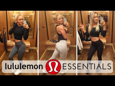 Lululemon Employee Try-On | Top 8 Must-Have Items EXPLAINED!