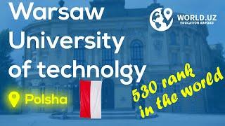 Polshaning Warsaw University of technology haqida videorolik