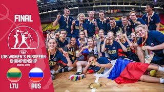 Lithuania v Russia - Final - Full Game - FIBA U16 Women's European Championship 2019