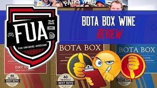 Bota Box Wine Review by FU Awesome #BotaBox