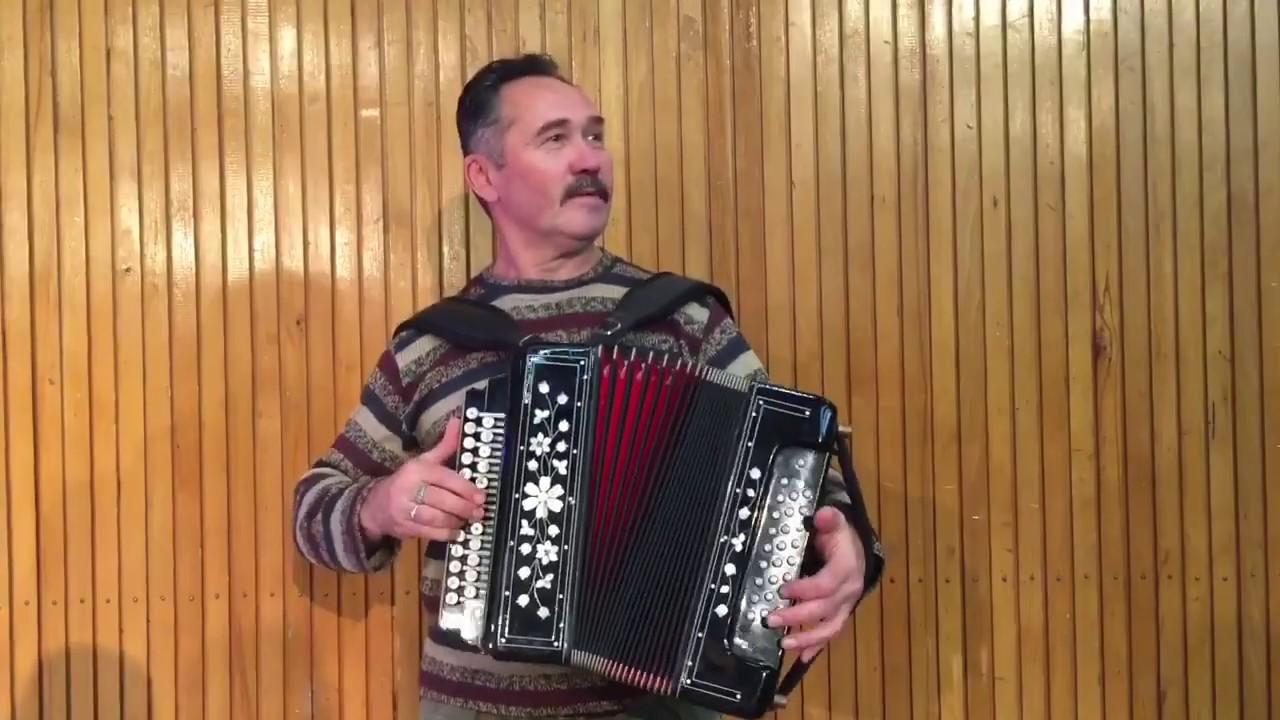 Песня про баню. Уральский Гармонист Владимир Опарин. Исполняет автор.