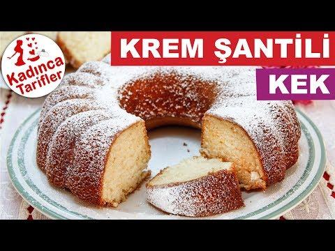 Krem Şantili Kek Nasıl Yapılır | Krem Şantili Kek Tarifi | Kolay Kek Tarifleri | Kadınca Tarifler