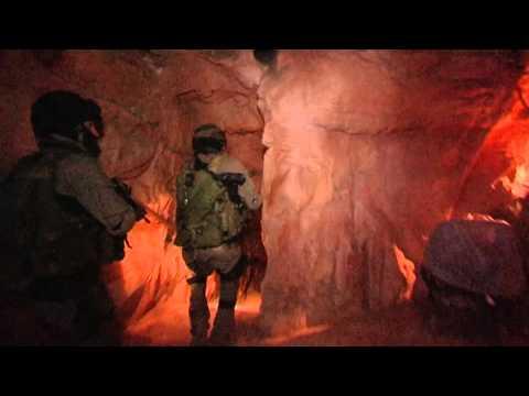 IDF Elite Counter Terrorism Unit Practices Rescuing Hostages