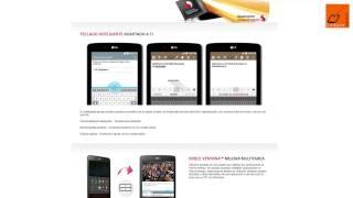 Los tableta LG® G Pad llegan a España(País) con precios muy ajustados