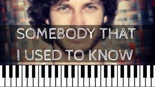 Gotye – Somebody That I Used To Know