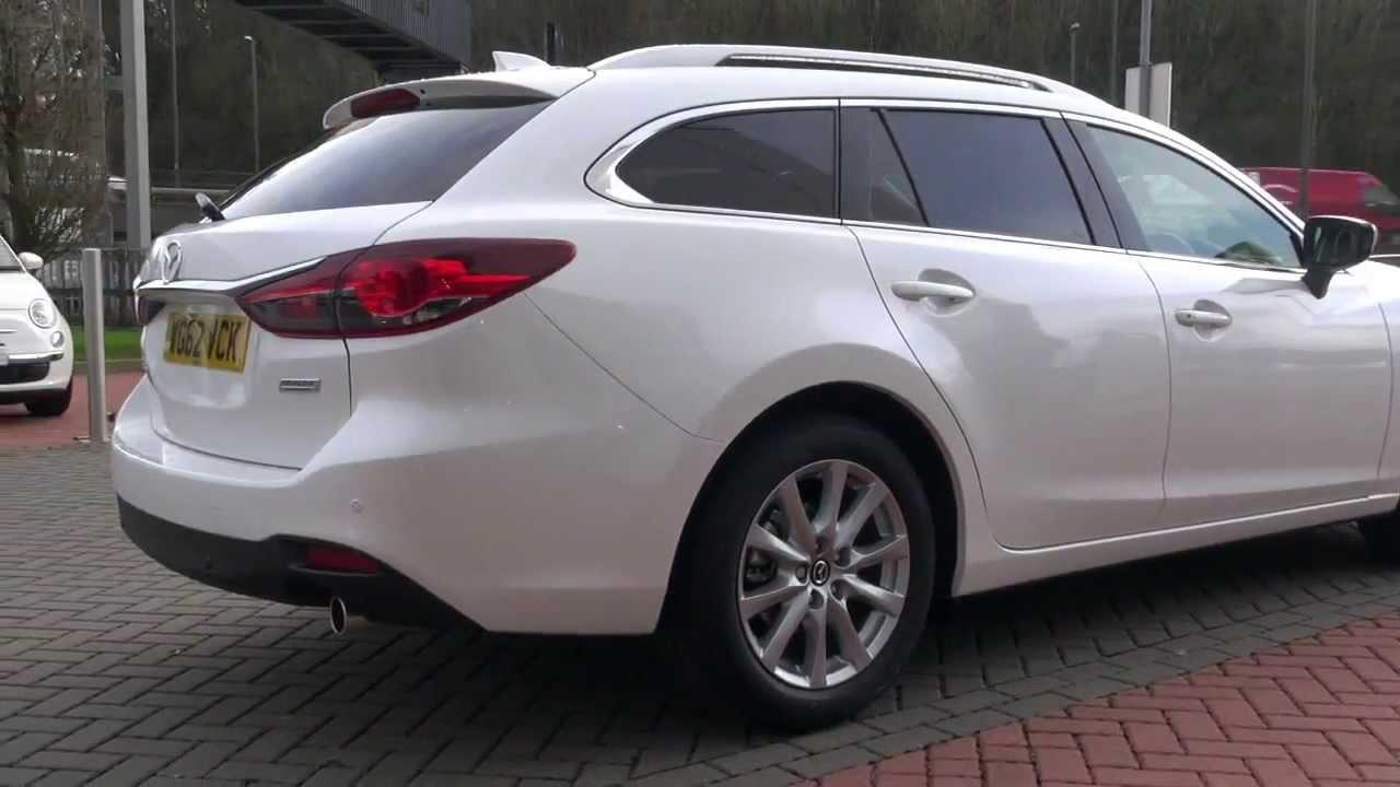 New Mazda 6 Tourer Estate Auto Review Youtube