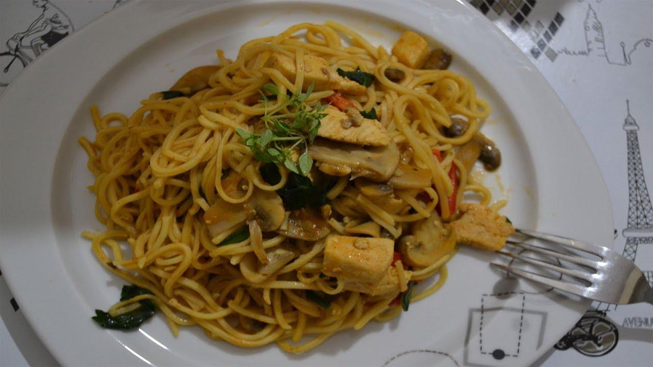 Çin Usulü Tavuk Noodle Videosu