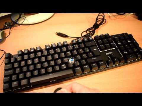 Review: Aukey mechanische Tastatur für Gamer und Büroarbeiter