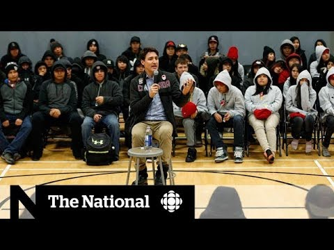 Trudeau visits First Nation amid suicide crisis
