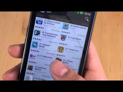LG P936 Optimus True HD LTE - Bedienung - Teil 2