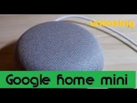 Google Home Mini Unboxing Einrichtung App Einrichtung Smarthome