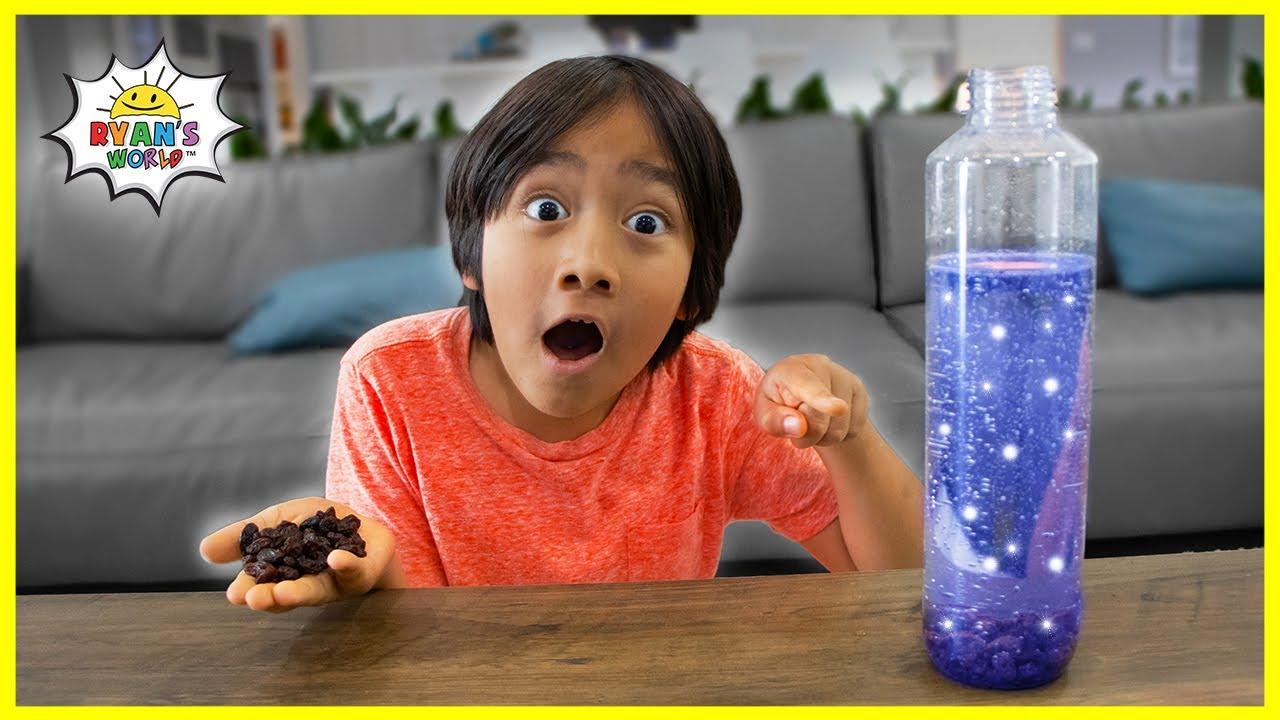 Dancing Raisins Experiments Easy DIY Science Experiments for kids!