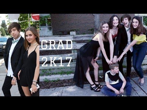 GRADE 8 GRAD//GET READY WITH ME