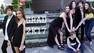 GRADE 8 GRAD//GET READY WITH ME