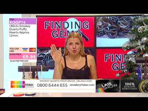 Black Friday Special on The Late Show (JewelleryMaker) LIVE 28/11/2014