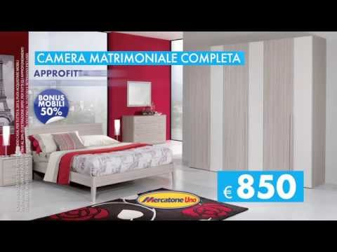 Camera matrimoniale completa youtube - Mercatone uno camere da letto catalogo ...