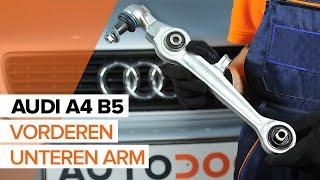 Wie Lenker Radaufhängung AUDI A4 Avant (8ED, B7) wechseln - Online-Video kostenlos