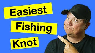 Easiest Fishing Knot to Learn - Clinch Knot - Fishermans Knot